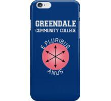 Greendale - E Pluribus Anus iPhone Case/Skin