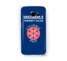 Greendale - E Pluribus Anus Samsung Galaxy Case/Skin