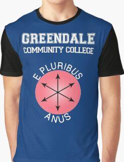 Greendale - E Pluribus Anus Graphic T-Shirt