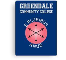 Greendale - E Pluribus Anus Canvas Print