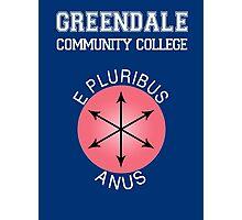 Greendale - E Pluribus Anus Photographic Print