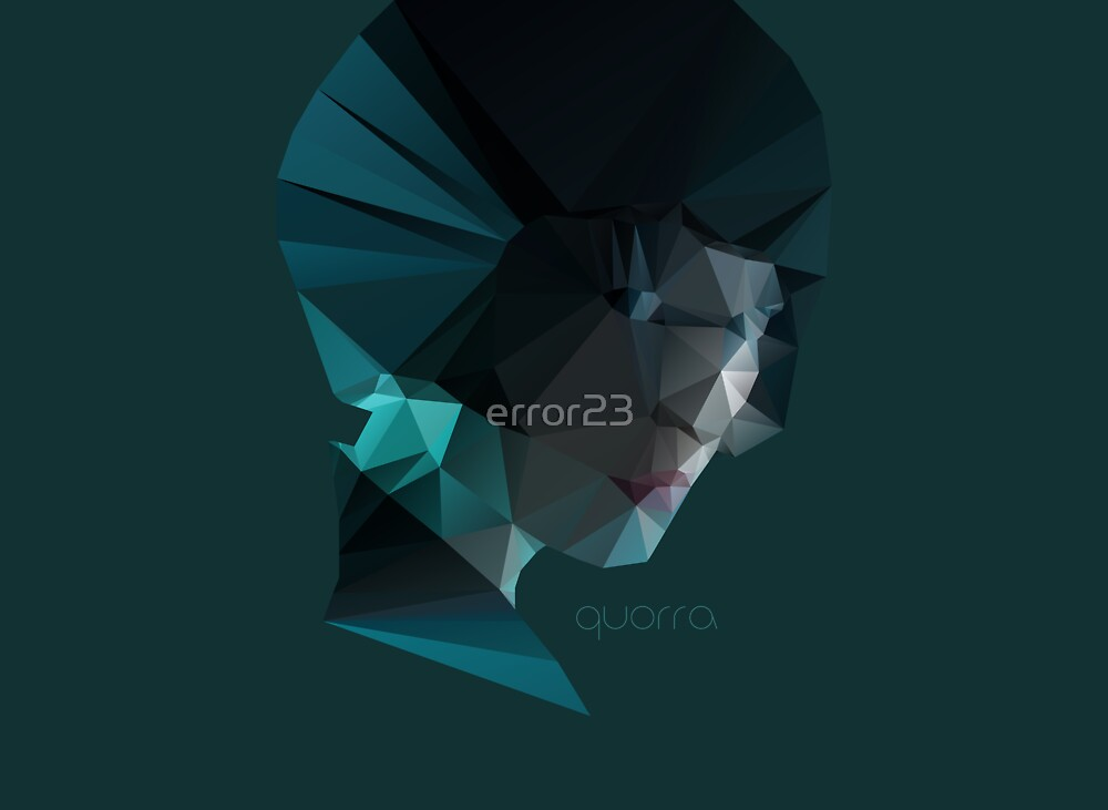 Quorra Poly by error23
