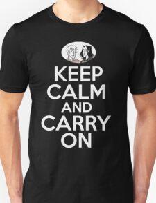 Keep Calm and Carry On, Simon Snow Unisex T-Shirt