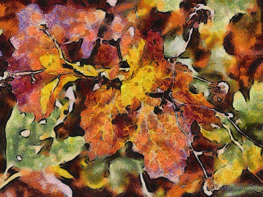 Leaves by Linda Miller Gesualdo