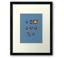 Lemming Roles Framed Print