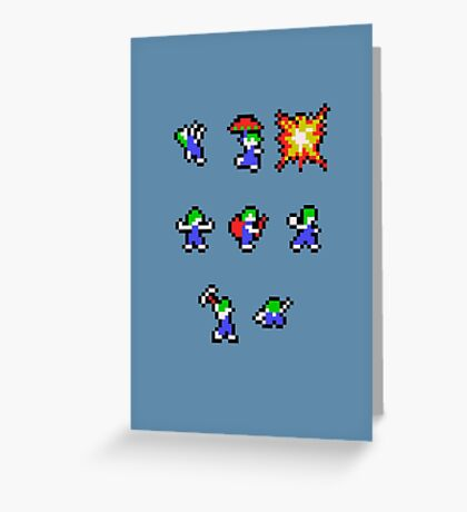 Lemming Roles Greeting Card
