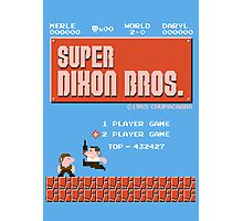 Super Brothers Photographic Print