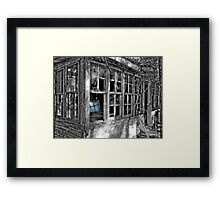 Outside, Looking In Framed Print
