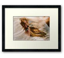 about dream Framed Print