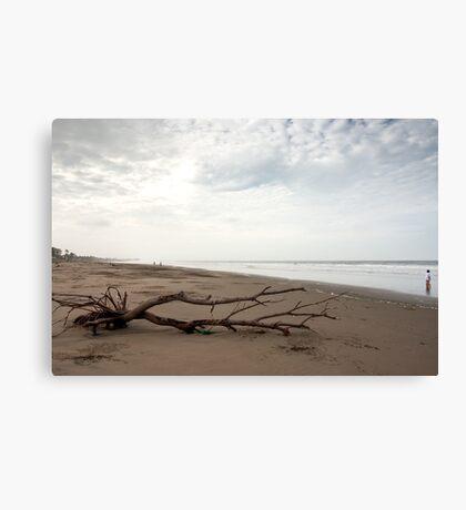 Beach Scene - Playas, Ecuador Canvas Print