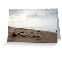 Beach Scene - Playas, Ecuador Greeting Card