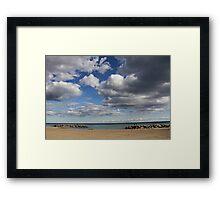 Kew-Balmy Beach Framed Print