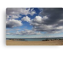Kew-Balmy Beach Canvas Print