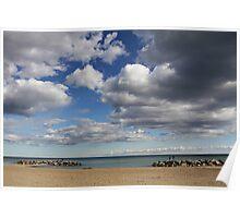 Kew-Balmy Beach Poster