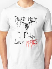 I F*ckin Love Apples T-Shirt
