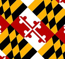 Smartphone Case - State Flag of Maryland  - Diagonal by Mark Podger