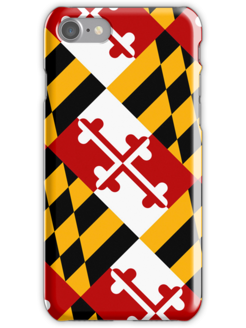 Smartphone Case - State Flag of Maryland  - Diagonal by Mark Podger