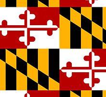 Smartphone Case - State Flag of Maryland  - Patchwork II by Mark Podger