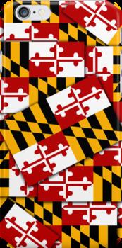 Smartphone Case - State Flag of Maryland  - Multiple by Mark Podger