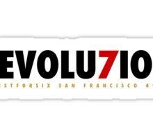 "49ERS ""REVOLU7ION"" T-SHIRT Sticker"