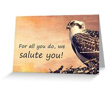 Armed Forces Day Blank Card Greeting Card