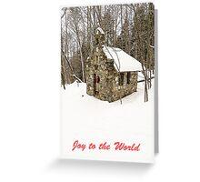 Joy to the World Christmas Card Greeting Card