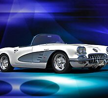 1959 Corvette Roadster III by DaveKoontz