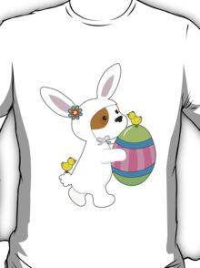 Cute Puppy Bunny Suit T-Shirt