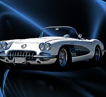 1959 Corvette Roadster IV by DaveKoontz