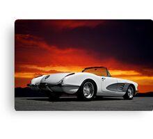 1959 Corvette Roadster IX Canvas Print