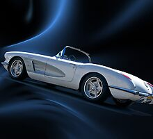 1959 Corvette Roadster V by DaveKoontz