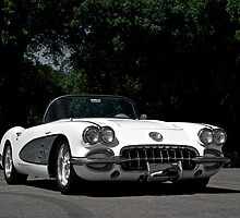 1959 Corvette Roadster VIII by DaveKoontz