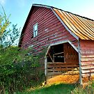 Red Barn by Tracey Hampton