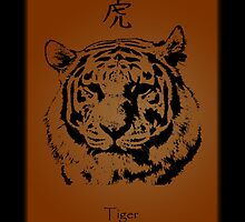 Japanese Tiger by JassyJay