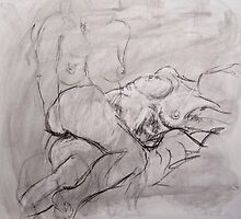 Study of Female Figure by kmazzei
