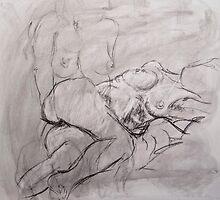 Study of Female Figure by kmazzei