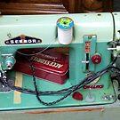 Old Sewmore Machine by WildestArt