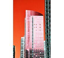 Skyscraper Red Photographic Print