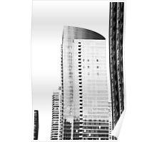Skyscraper Black & White Poster