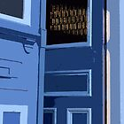 Blue Door  by AMGunn
