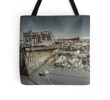 Stranded On The Marsh Tote Bag