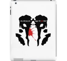 What do you see? iPad Case/Skin