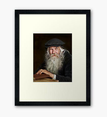 The Scholar Framed Print