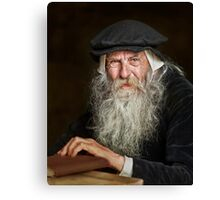 The Scholar Canvas Print