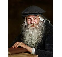 The Scholar Photographic Print