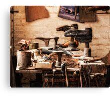 The Shoe Makers Shop Canvas Print