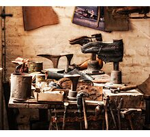 The Shoe Makers Shop Photographic Print