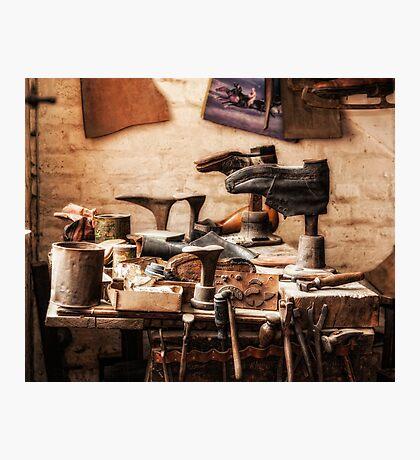The Shoe Makers Shop Photographic Print
