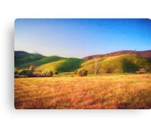 Sunset Field       (VG) Canvas Print