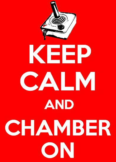 Keep Calm Poster by TheGamerChamber